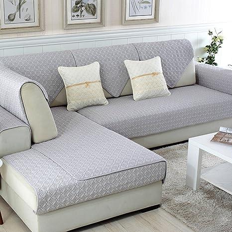 Reversible Sofá Fundas,Protector de sofá algodón Anti Slip ...