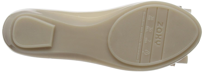 Zaxy Damen Damen Damen Pop Glam Ballerinas Beige (Vanilla) 16205e
