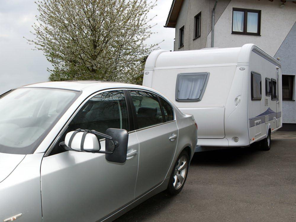 LAS 11011 Caravan Wing Mirror Universal with Hinge