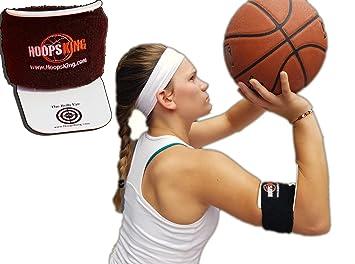Amazon.com : BullsEye Basketball Shooting Training Aid, Perfect ...