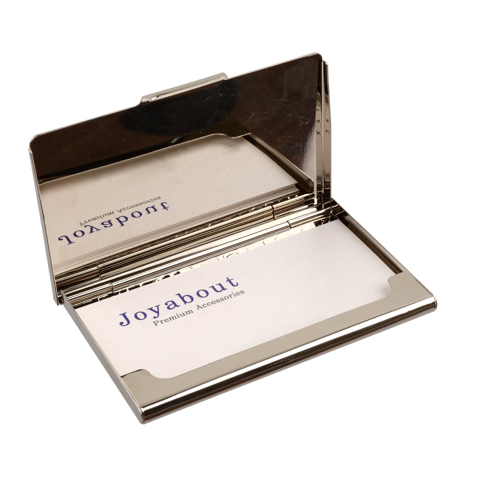 business name card holder stainless steel case Mother of Pearl Art Arabesque by MOP antique (Image #3)