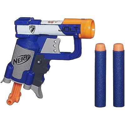 Nerf N-Strike Jolt Blaster (blue): Toys & Games
