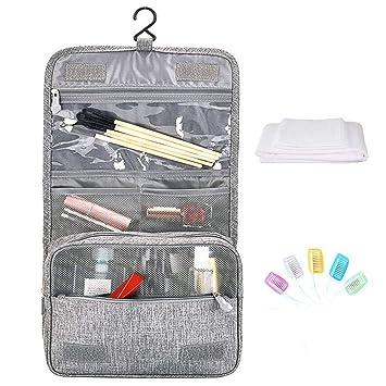 34b4647158c0 Amazon.com : Hantier Hanging Toiletry Bag Cosmetic Make up Pouch ...