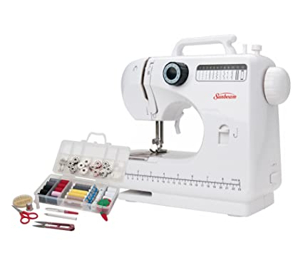 Amazon Sunbeam SB40 EasytoUse Everyday Compact Sewing Gorgeous Beginners Sewing Machine Kit