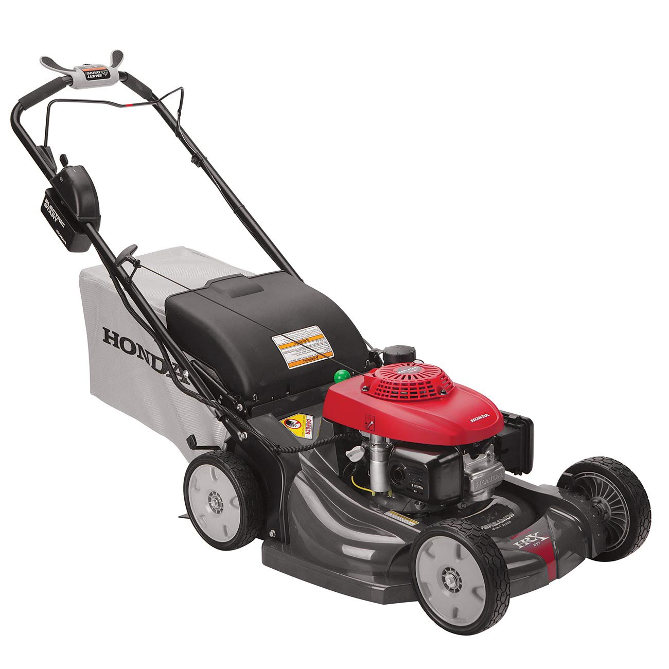 "Amazon.com : Honda HRX217VLA 21"" Walk Behind Lawn Mower w/ Electric Start :  Garden & Outdoor"