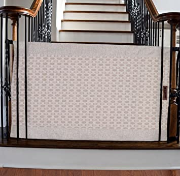 The Stair Barrier   Banister To Banister Baby/Pet Gate   Wide