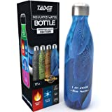 Amazon Price History for:Insulated Stainless Steel Water Bottle - Endangered Species Edition - Metal Thermo Style Bottles Great For Sports, Gym, Kids - Keeps Drinks Hot & Cold - 17 Oz Large