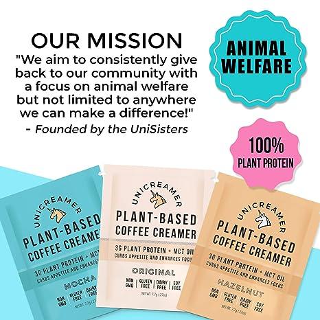 Unicreamer Vegan Creamer de café no lácteo – Paquete ...