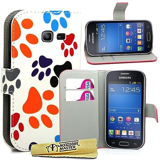 4 opinioni per Accessory Master Custodia Libro Portafoglio in pu Pelle per Samsung Galaxy Trend