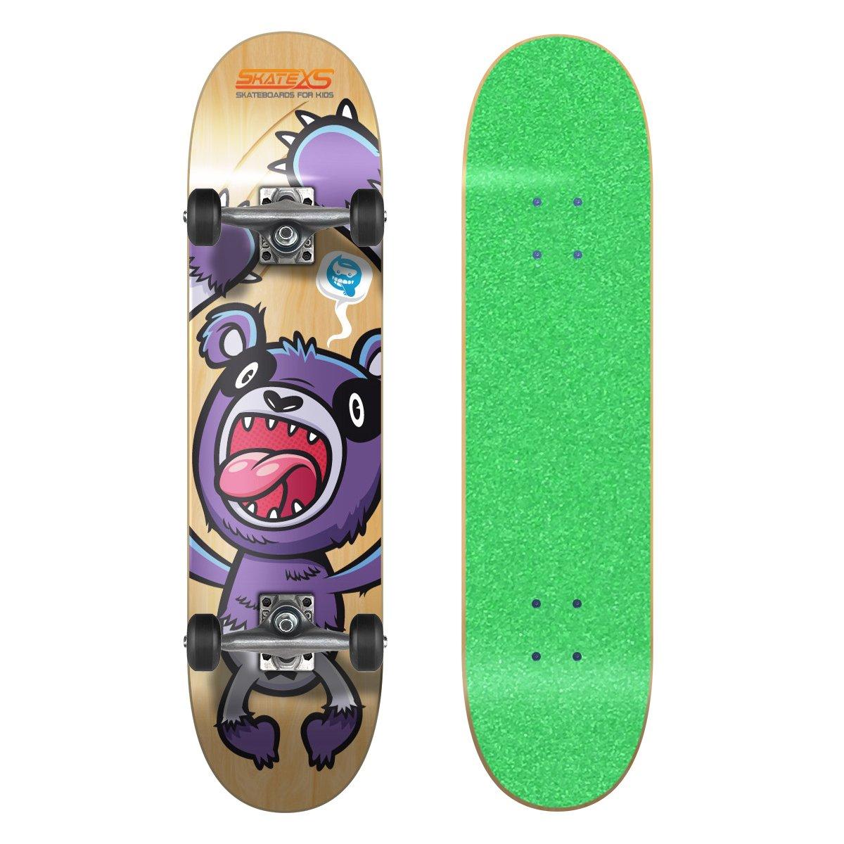 激安の SkateXS Beginner Panda Street Skateboard - Green SkateXS - Grip Grip B00YG1W5UM, ユニクラス:7a59afd1 --- a0267596.xsph.ru