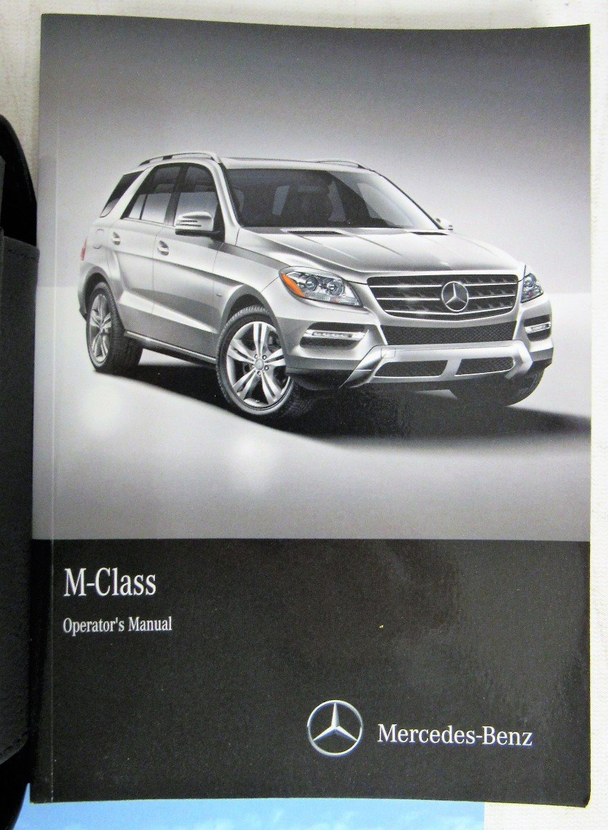 2015 Genuine OEM Mercedes Benz M-Class Owner's Manual for all ML250 BLUETEC  ML350 ML400 ML 550 4MATIC ML 63 AMG: Mercedes Benz: 0682821521737:  Amazon.com: ...