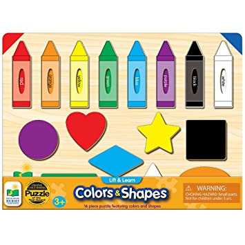 Amazon.com: The Learning Journey Lift & Learn Colors & Shapes: Toys ...