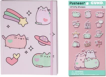 Gund Polka Dot Pusheen Journal