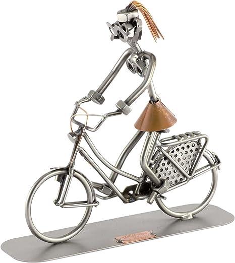 Steelman24 I Bicicleta Inglesa I Made in Germany I Idea para Regalo I Figura de metalo