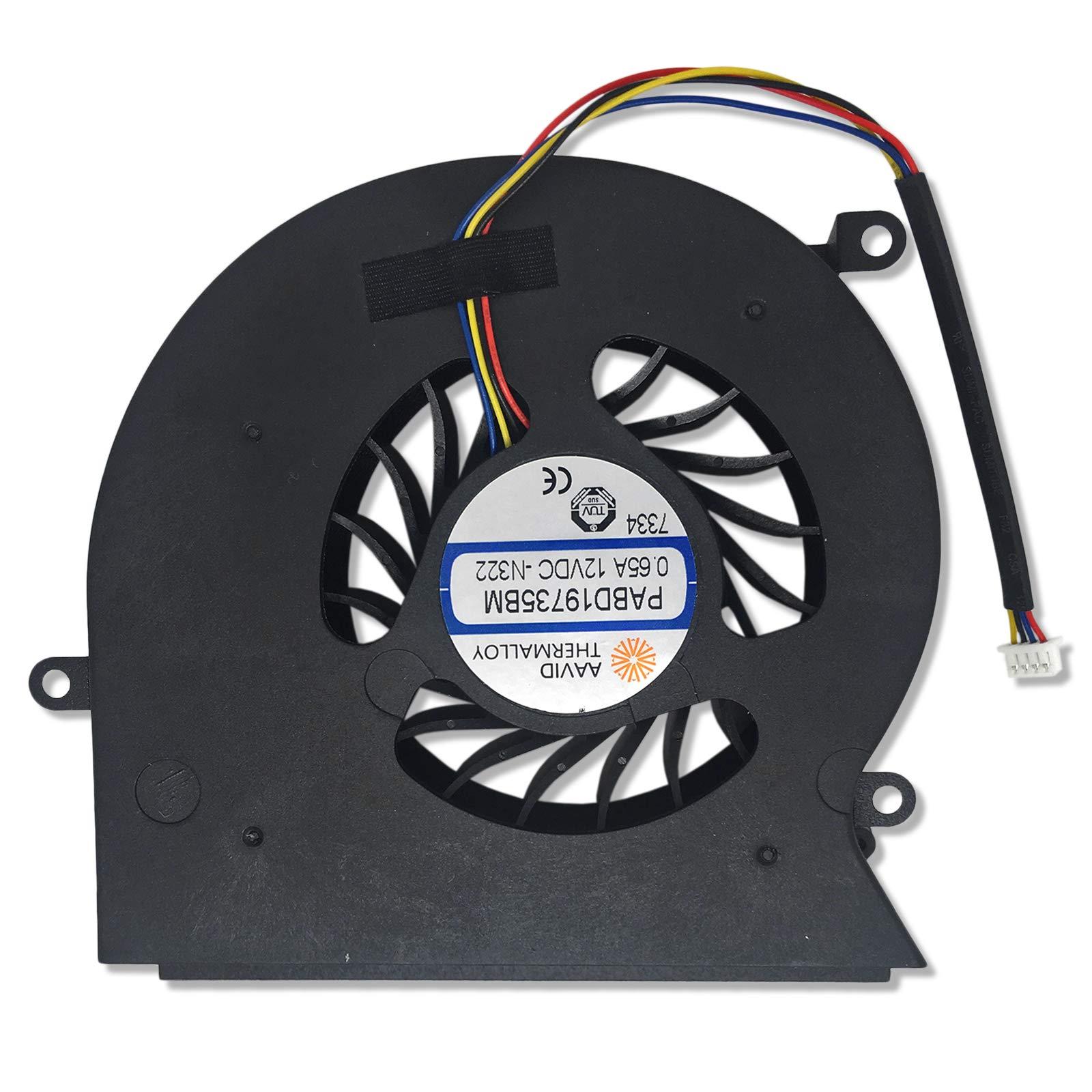 Cooler 4-pins Para Msi Gt62 Gt62vr 16l1/16l2 Pabd19735b 12v 0.65a