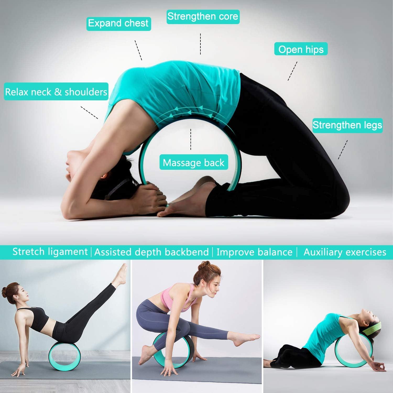 1X 5 Teile // Los Widerstand Band Latex Zug Band Sport Fitness Yoga Widersta R4X6