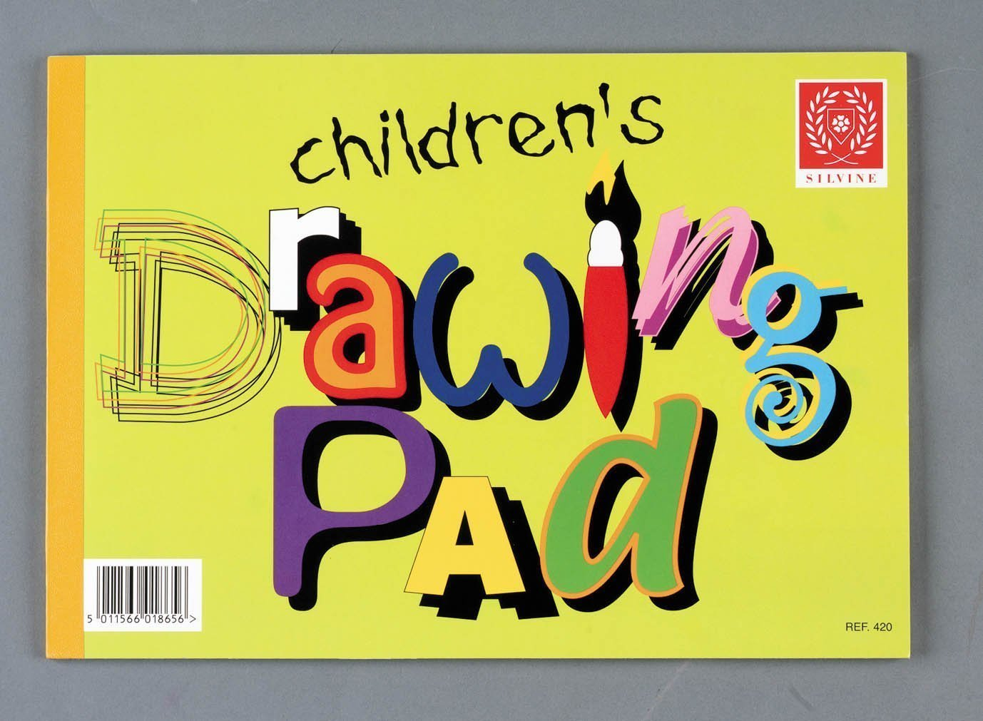 3xSilvine A4 childrens drawing pad (REF:420)