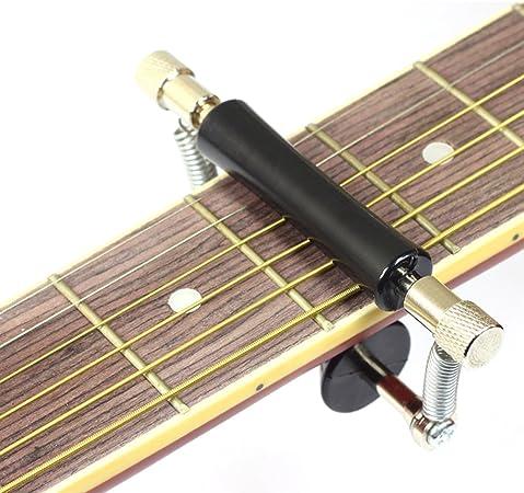 HLHome - Cejilla deslizante para guitarra, accesorios para instrumentos musicales