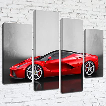 mpcars521 Ferrari LaFerrari vista lateral enmarcado listo para ...