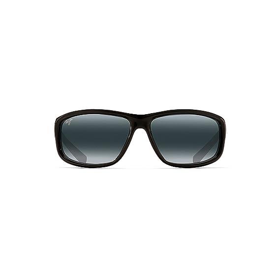 6655456fd8 Maui Jim 278-02 Black Spartan Reef Wrap Sunglasses Polarised Sailing ...