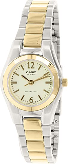 Casio Reloj con movimiento cuarzo japonés Woman Ltp-1253Sg-9A 26 mm