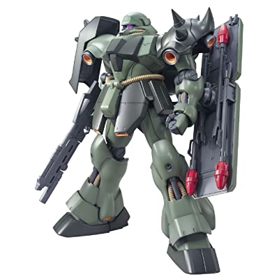 Bandai Hobby Master Grade Geara Doga Action Figure Model Kit, 1/100 Scale: Toys & Games