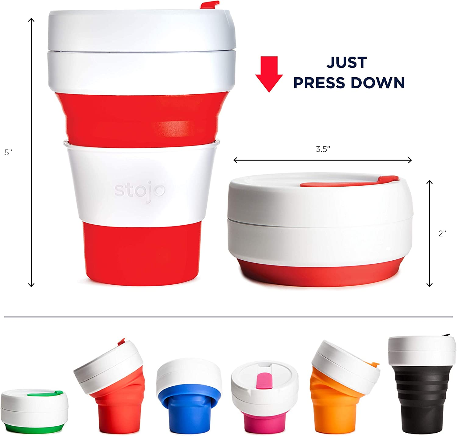 The Economist Collapsible Cup