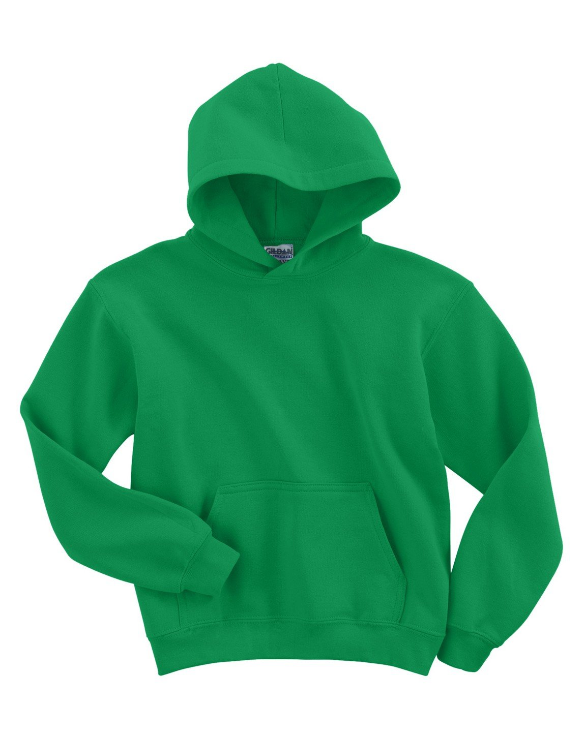 Gildan boys Heavy Blend Hooded Sweatshirt(G185B)-IRISH GREEN-M