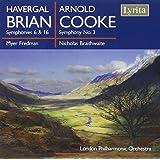 Havergal Brian - Arnold Cooke : Symphonies