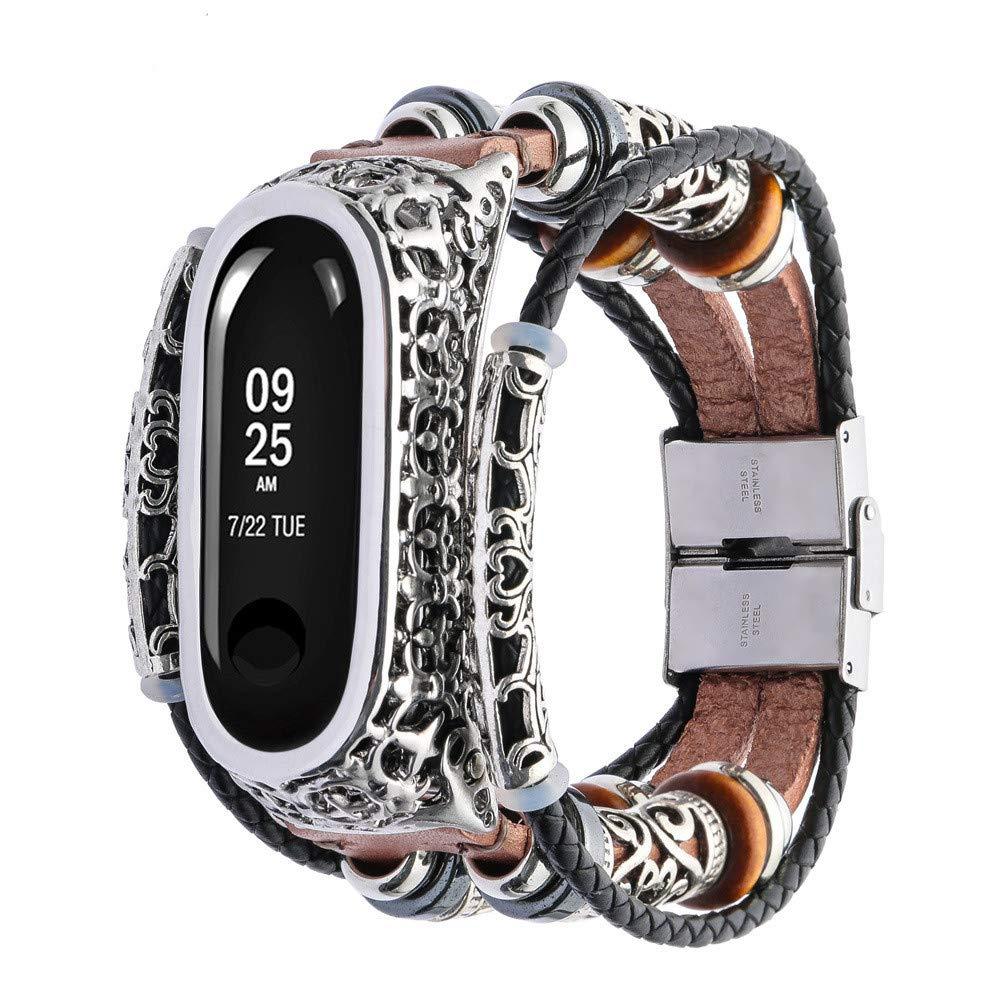 kashyk Ersatz Armband kompatibel f/ür Xiaomi Mi Band 3 Leder Armb/änder,Minimalistisches Design with Quick Release Leder Ersatz Uhren Zubeh/ör Uhrenarmband fur sportwatch in 7 Farben