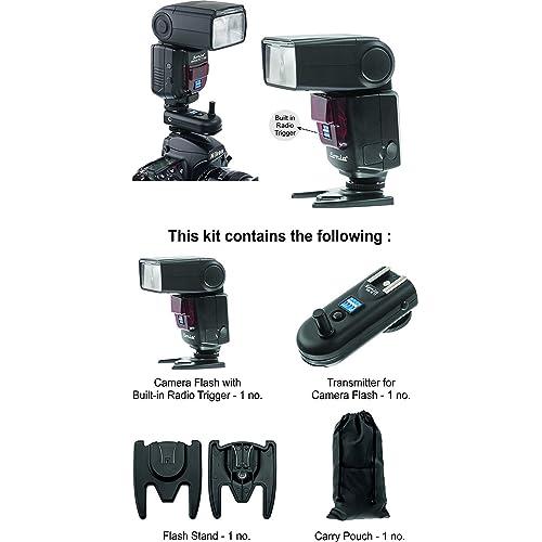 Sonia Camera Flash Speedlite Speedlight VT-631 with inbuilt Radio Trigger and Transmitter All other DSLR Cameras GN42