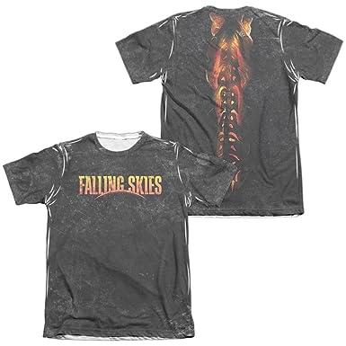 Falling Skies arnés adulto ajuste Regular camiseta de manga corta ...