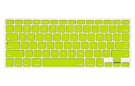 Amazon.com: Kuzy Neon Keyboard Carcasa de silicona – Skin ...