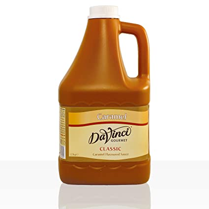 Da Vinci gourmet salsa caramelo 2,5 kg: Amazon.es: Alimentación y bebidas