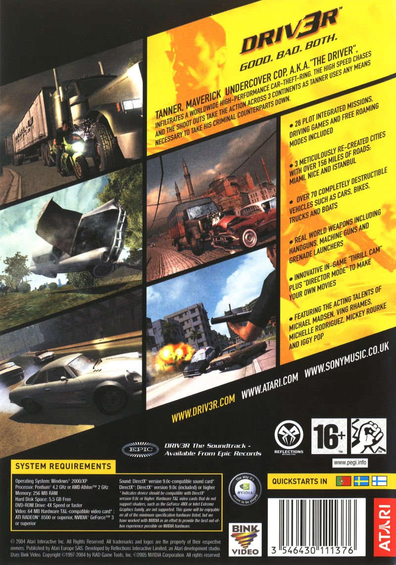 Buy Driver 3/Driver: Parallel Lines (PC) Online at Low Prices in
