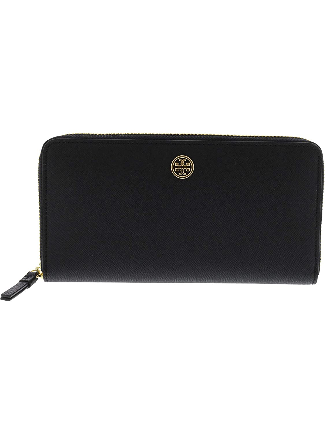 fd737a690b5 Amazon.com: Tory Burch Women's Robinson Zip Continental Wallet Black One  Size: Tory Burch: Shoes