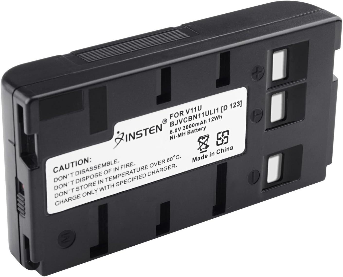 BN-V11U Insten Rechargeable Camcorder Battery High Capacity for JVC BN-V10U, BN-V11U, BN-V12U, BN-V14U, BN-V15, BN-V18U, BN-V22U, BN-V24U, BN-V25U PANASONIC PV-BP15 PV-BP17 Digital Camera : Camcorder Batteries : Camera & Photo