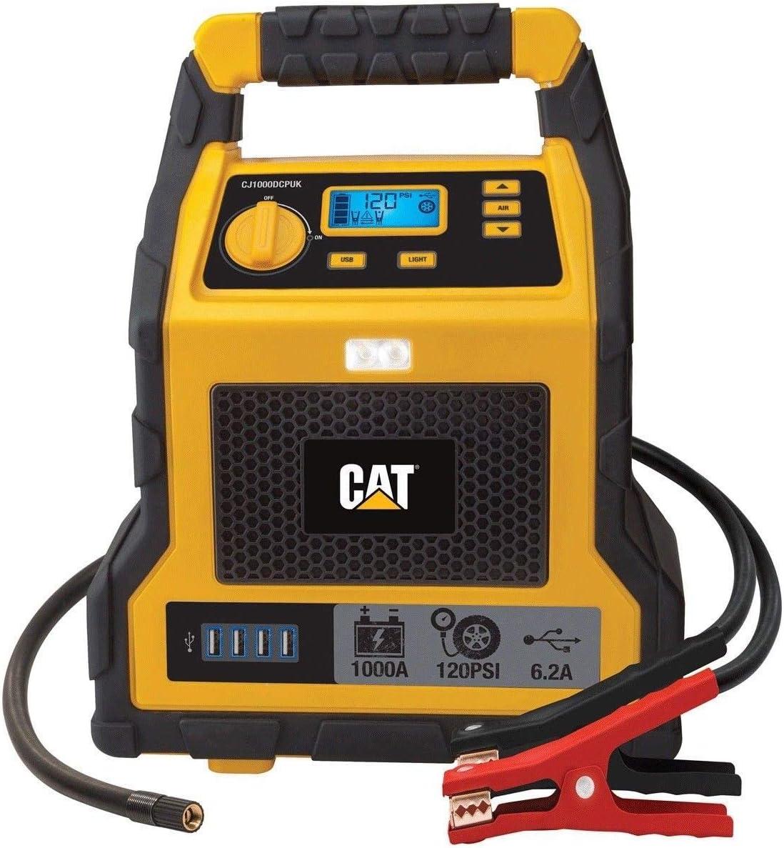 Jumpstarter Cat Avviatore di Emergenza Portatile per Auto 1000 Amp