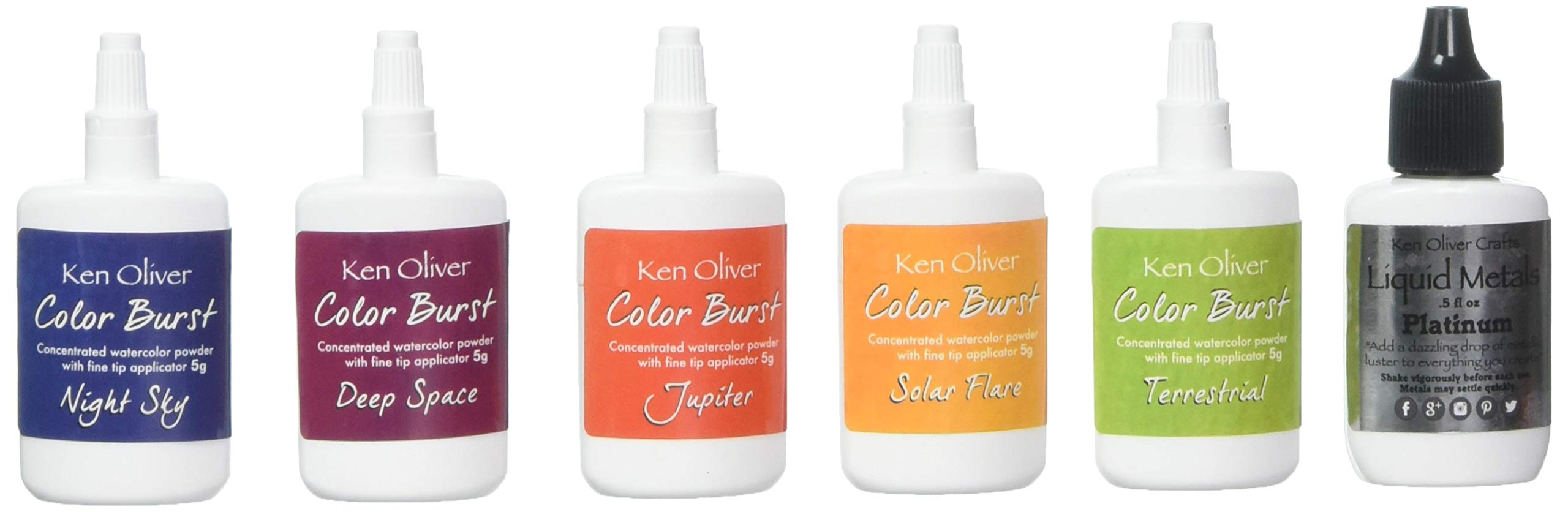 Ken Oliver KN-08176 Color Burst Powder, Multicolor