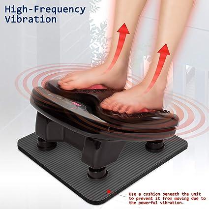 Bioenergiser Vibration Leg Vibro Trainer Legs Fußmassage weiß