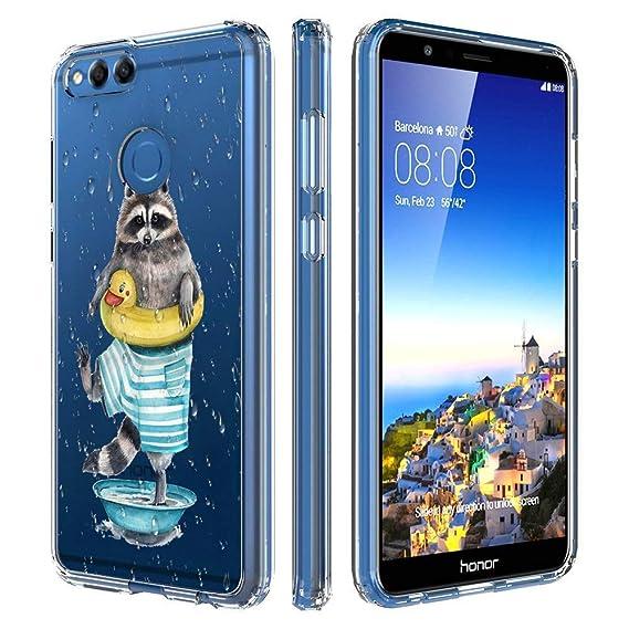 Amazon com: Huawei Honor 7X Case Slim Fit Shell Soft Thin