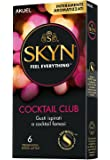 Skyn Feel Everything, Cocktail Club, 6 Preservativi Aromatizzati senza Latice