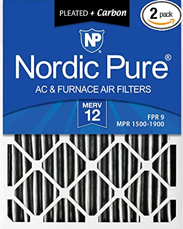 Nordic Pure 18x20x1 MERV 11 Pleated AC Furnace Air Filters 3 Pack