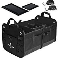 $28 » Feezen Car Trunk Organizer for SUV, Truck, Auto. Durable Collapsible Cargo Storage. With…