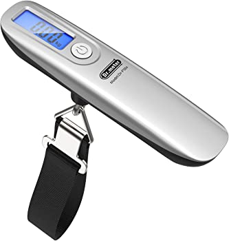 Dr.meter 110lb Digital Hanging Luggage Scales w/Tape Measure