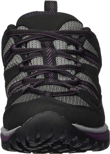 Black Blackberry Merrell Siren Sport 3 Gtx Womens Footwear Walking Shoes