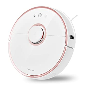Roborock S5 Robotic Vacuum and Mop Cleaner, 2000Pa Super Power Suction  &Wi-Fi Connectivity and Smart Navigating Robot Vacuum with 5200mAh Battery