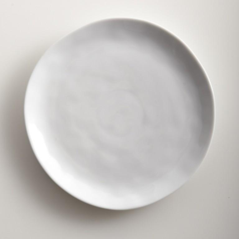 Sculptured Dishware - Salad Plate (Set of 4) white