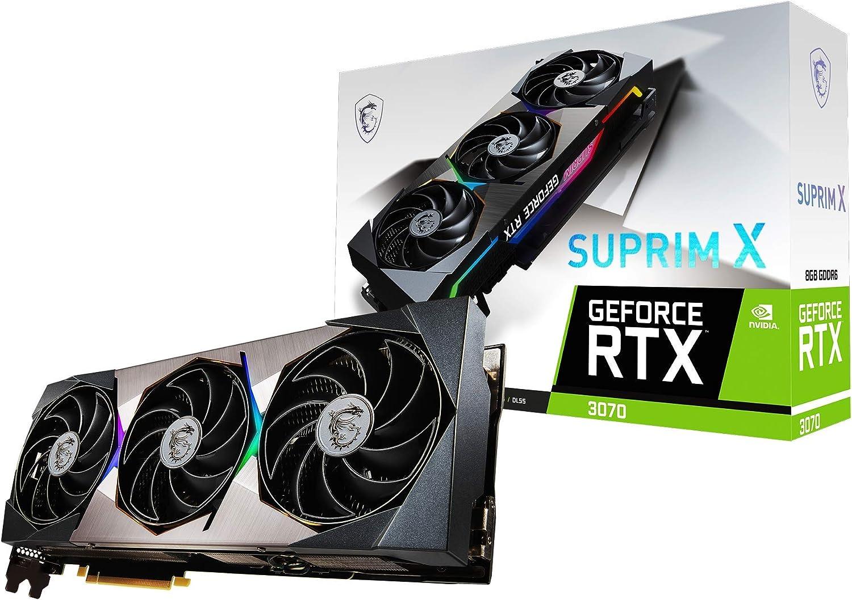 MSI RTX 3070 Suprim X