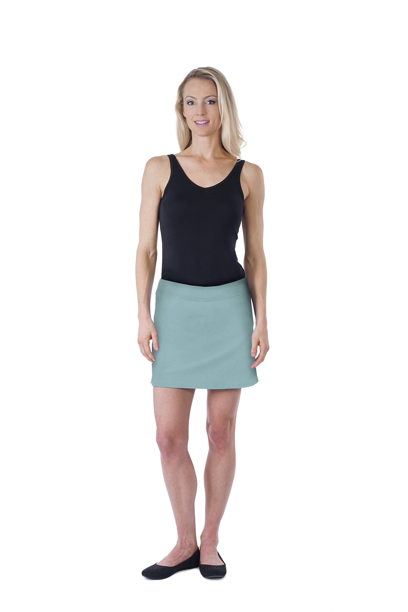Colorado Clothing Women's Everyday Skort (Beach Glass, X-Small)